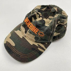 Wolverine Boots and Shoes Camo Badeball Cap Hat Ca